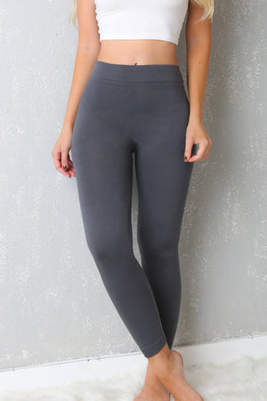 RESTOCK My Favorite  Leggings Ever Gray - Fashion Effect Store  - 1