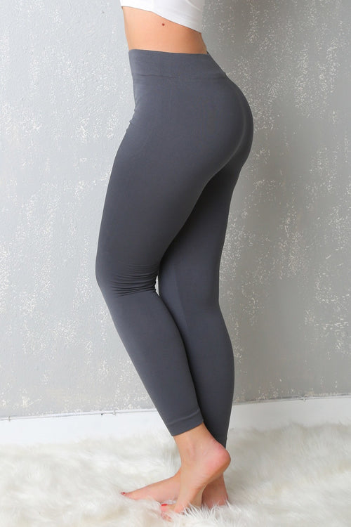 RESTOCK My Favorite  Leggings Ever Gray - Fashion Effect Store  - 2
