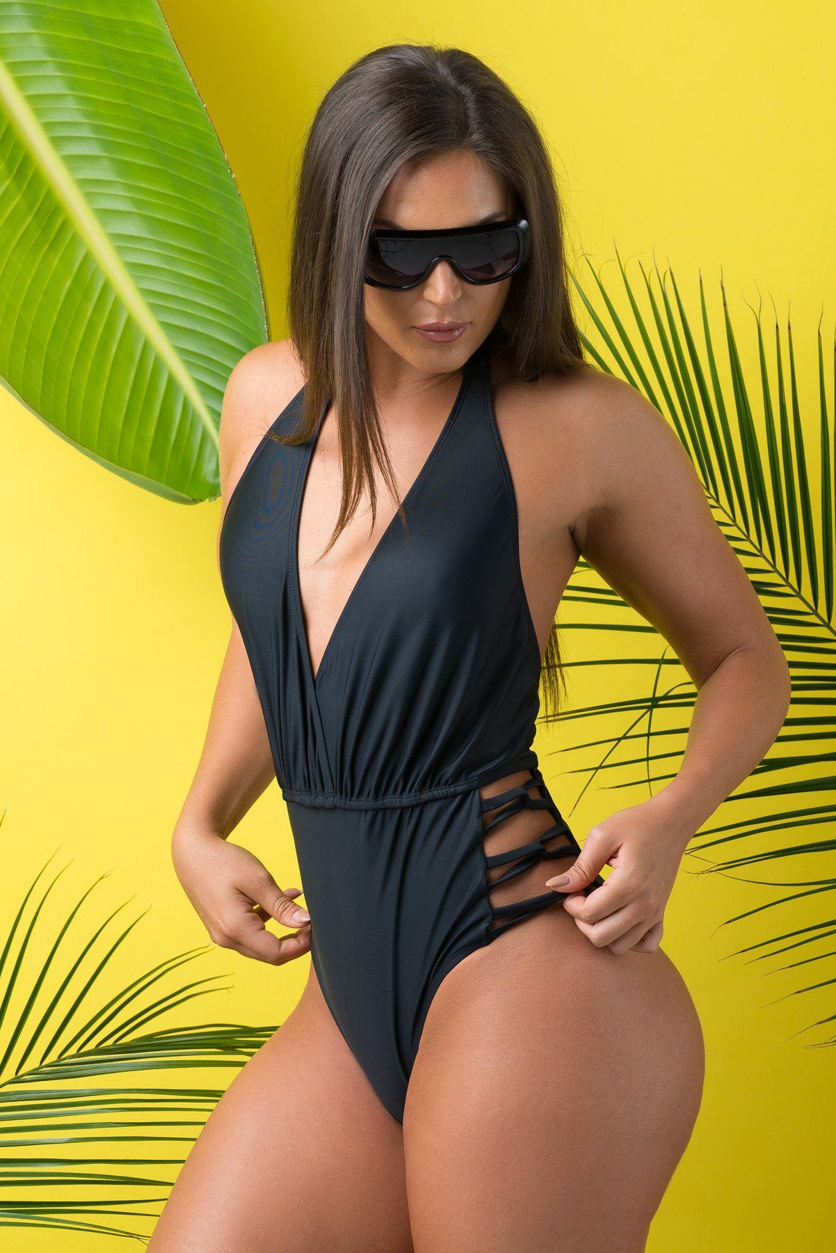 40a591c7ac4 Mermaid Cove One Piece Swimsuit Black – Fashion Effect Store
