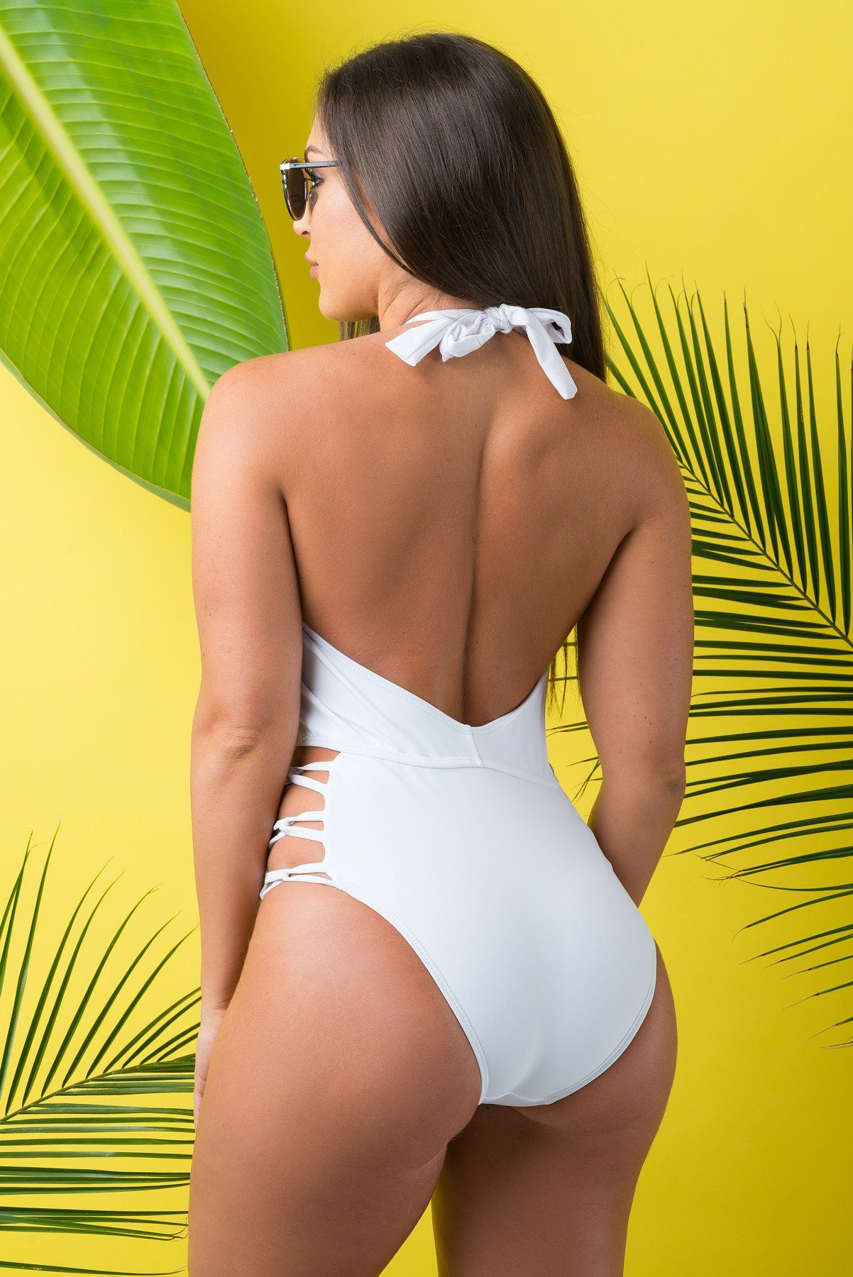 Mermaid Cove One Piece Swimsuit White