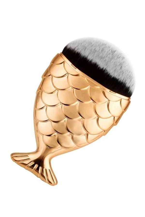 Mermaid Tail Fish Cosmetic Brush ( 1 PCS)