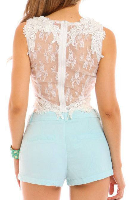 Mint to be Yours Shorts - Fashion Effect Store  - 2