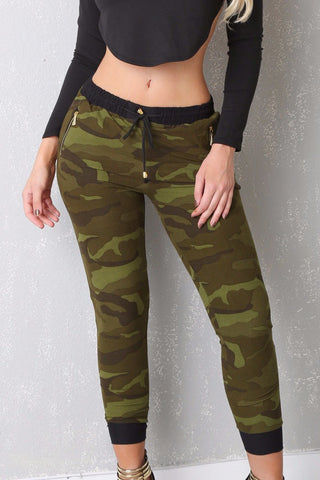 Camo Joggers - Fashion Effect Store  - 1