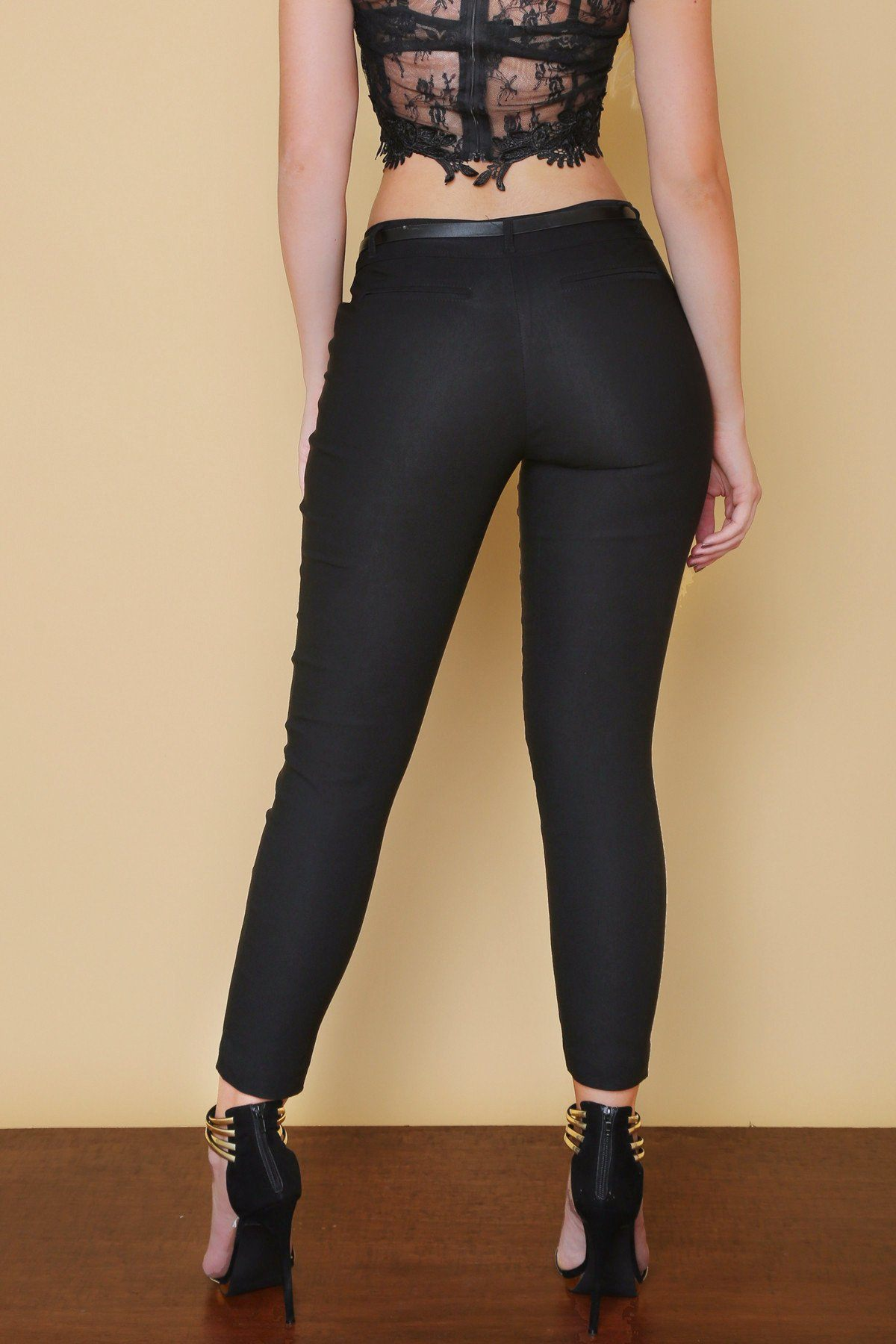 Pants - Get Down To Business Pants BLACK - RESTOCKED