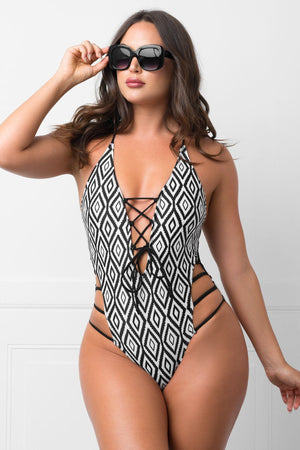 Peaceful Point One Piece Swimsuit