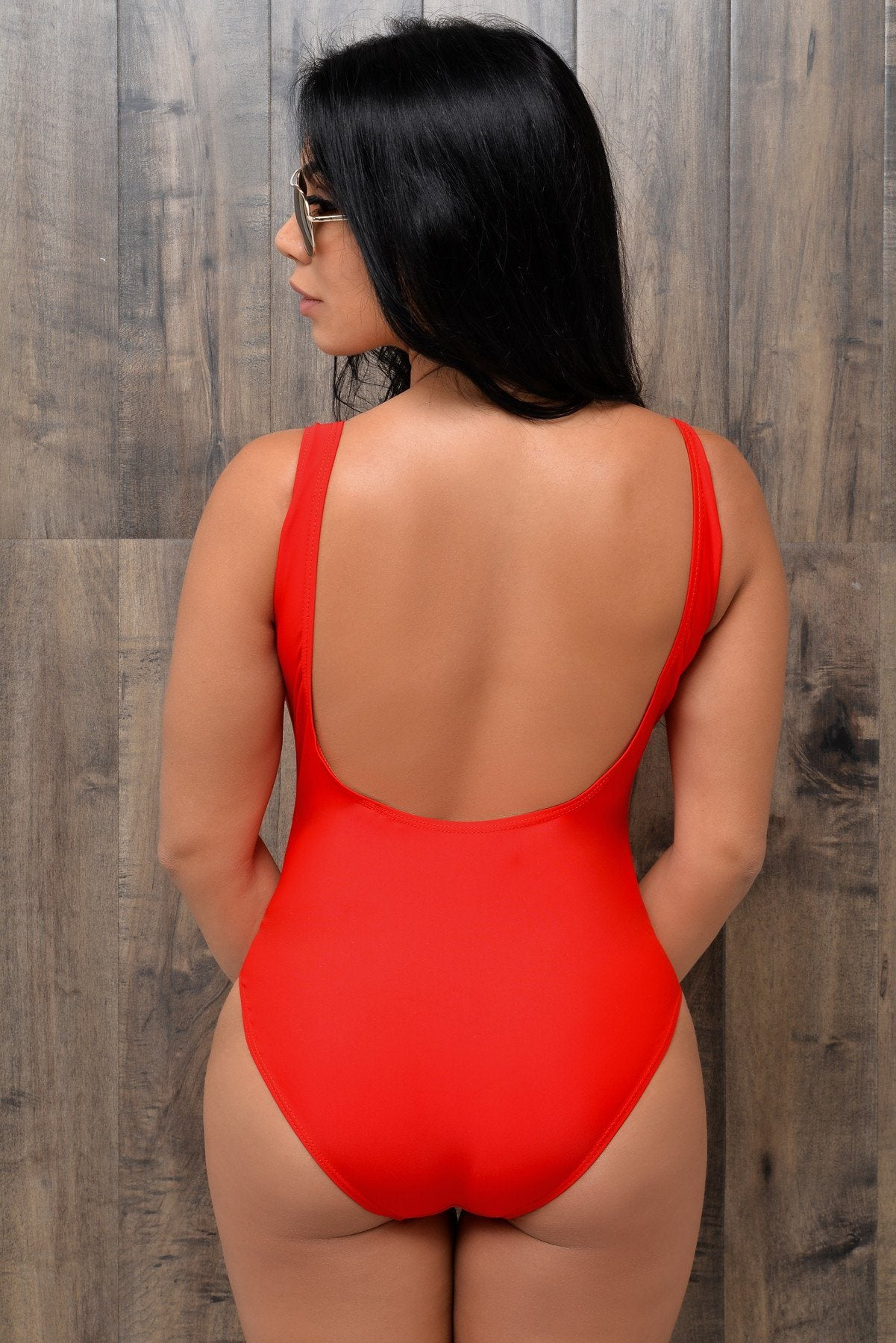 Relax Red One Piece