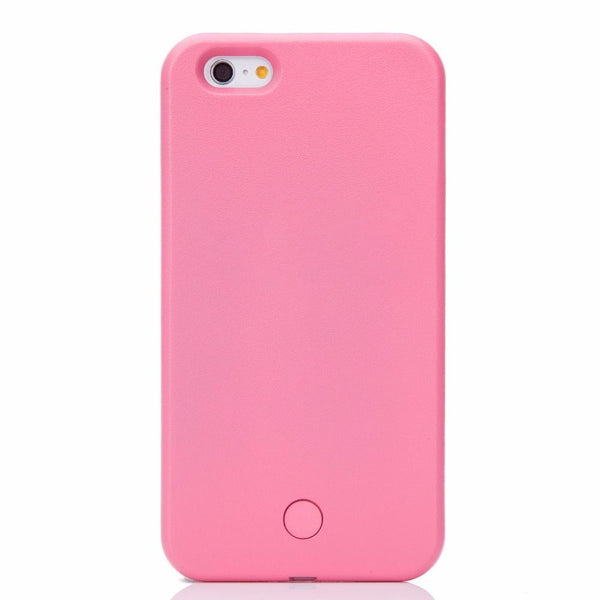 LED Light Up Selfie + Power bank Phone Cover Case Apple iPhone 6 & 6 PLUS - Fashion Effect Store  - 6