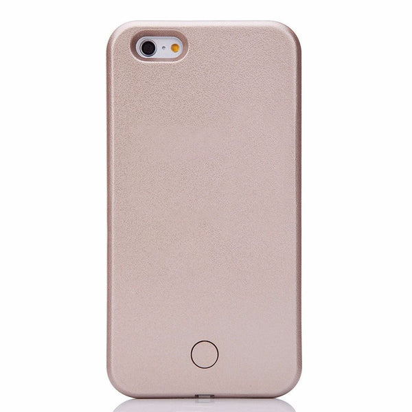 LED Light Up Selfie + Power bank Phone Cover Case Apple iPhone 6 & 6 PLUS - Fashion Effect Store  - 4