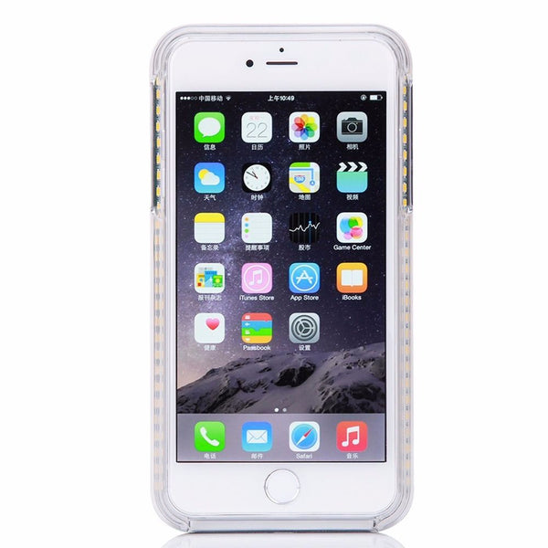 LED Light Up Selfie + Power bank Phone Cover Case Apple iPhone 6 & 6 PLUS - Fashion Effect Store  - 7
