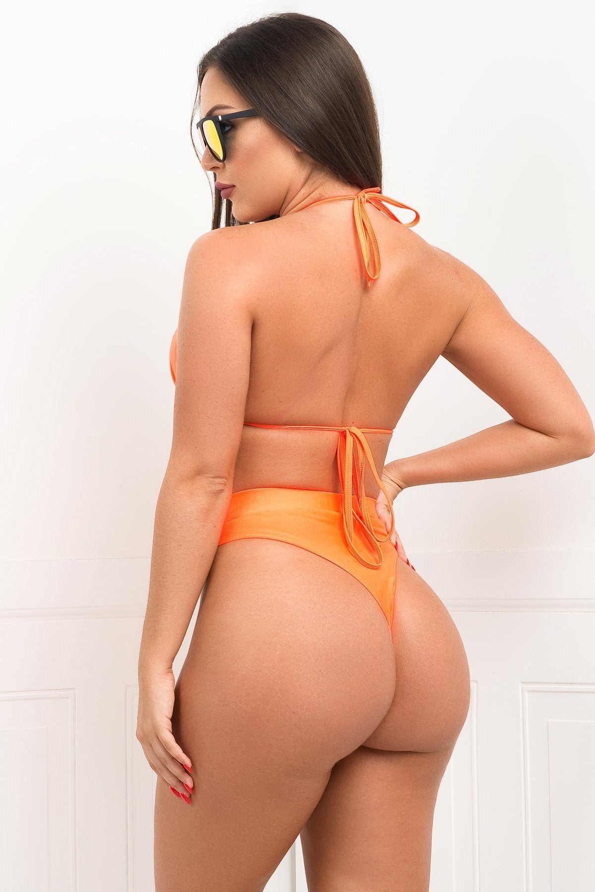 Sandy Cliffs 3 Piece Swimsuit - Orange