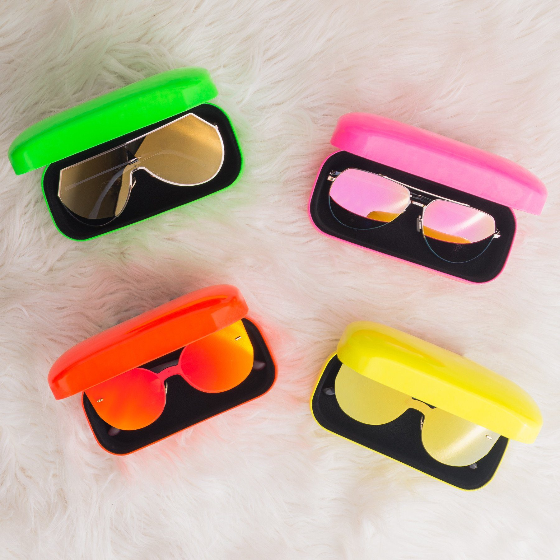 Shades Of Summer Sunglasses Case