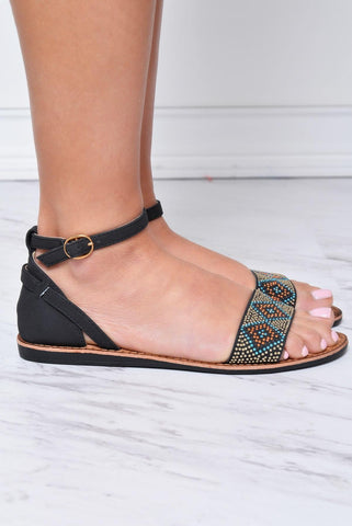Festival Black Sandals - Fashion Effect Store  - 2
