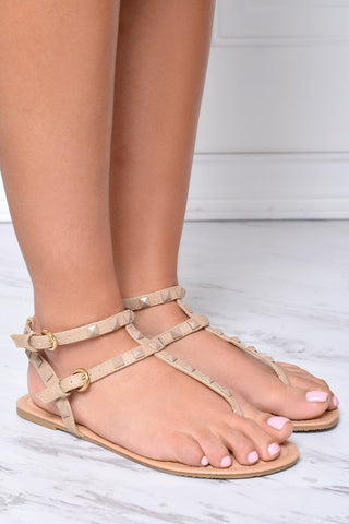 First Class Nude Sandals - Fashion Effect Store  - 1