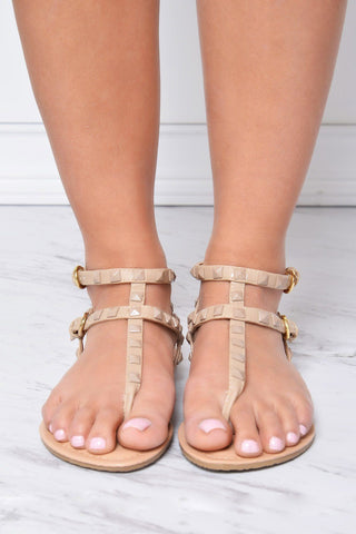 First Class Nude Sandals - Fashion Effect Store  - 2