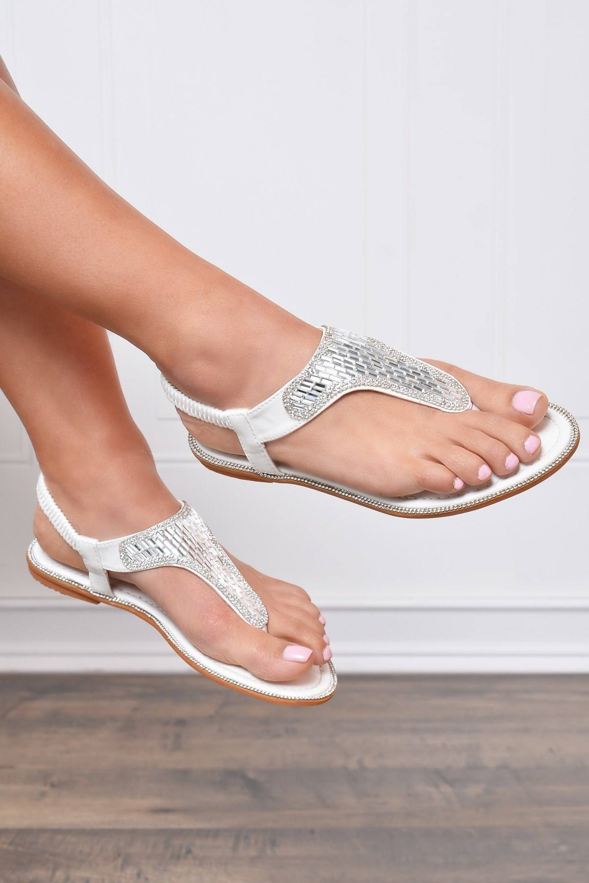 Malibu White Sandals - Fashion Effect Store  - 2