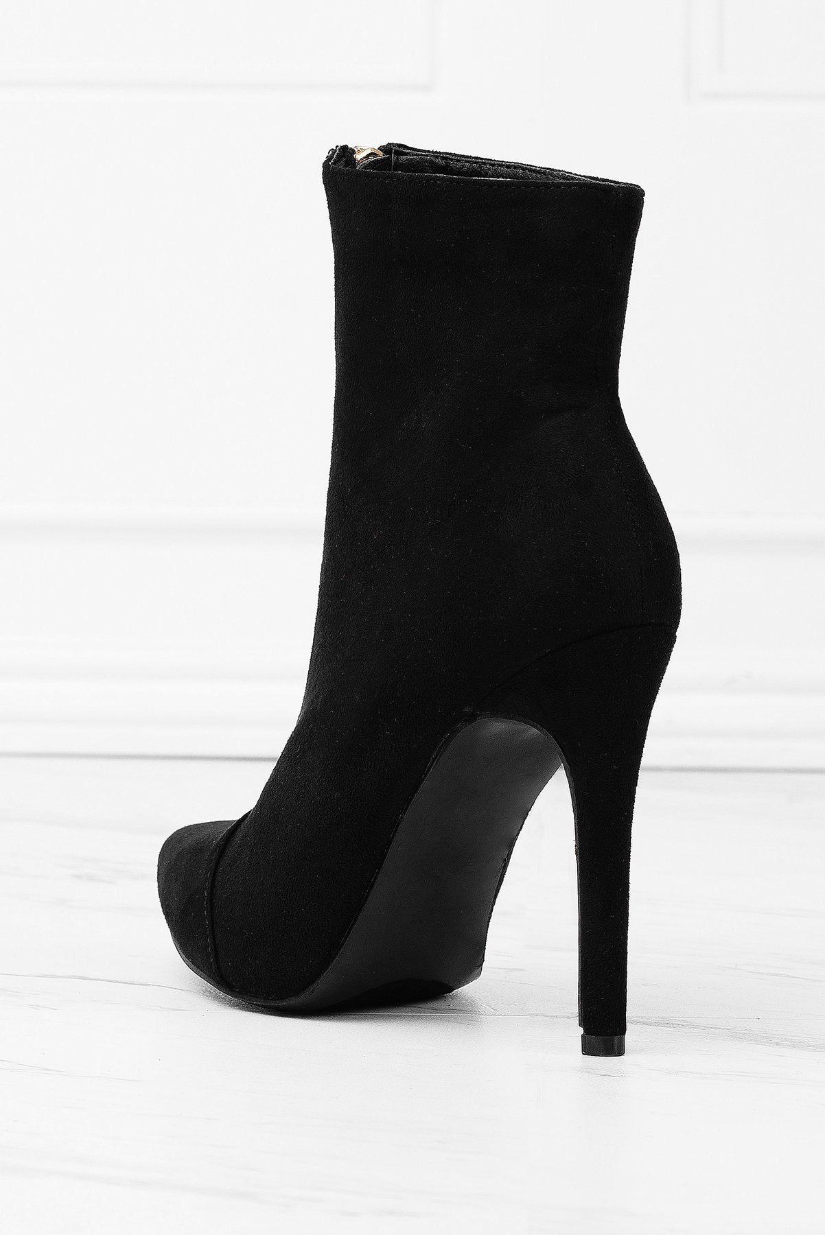 Shoes - Over The Edge Booties - Black