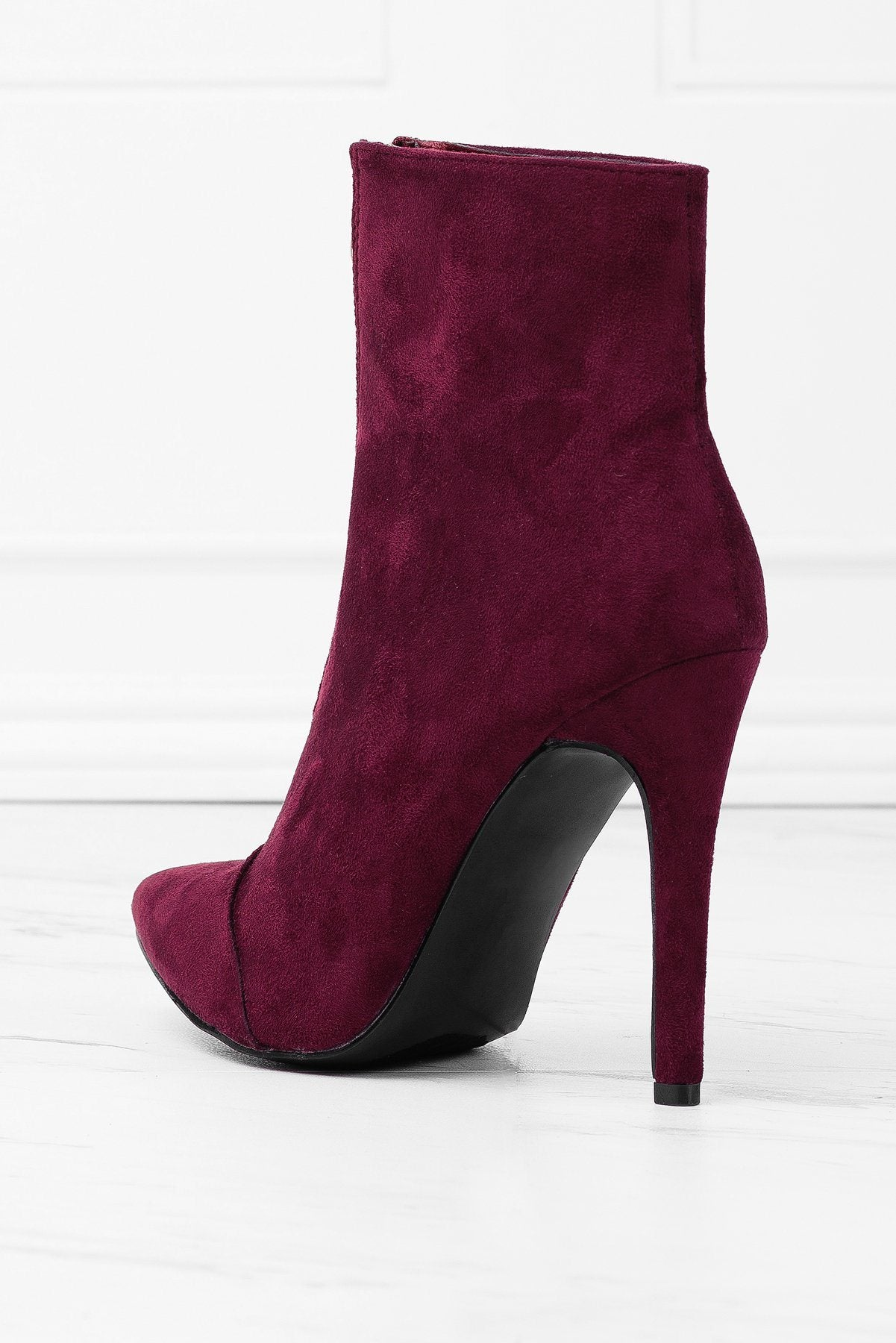 Shoes - Over The Edge Booties - Wine