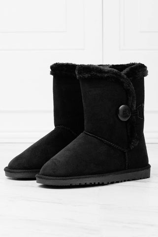 Over The Edge Booties - Black