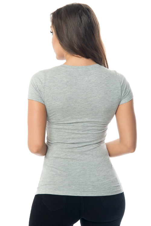 Sw - Kennedy Grey Top-RESTOCKED