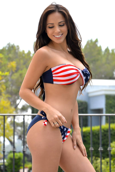 American Flag Swimsuit - Fashion Effect Store  - 2