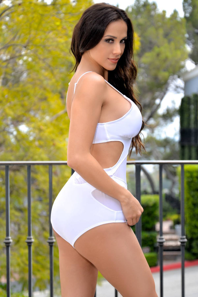 Ibiza Monokini WHITE - Fashion Effect Store  - 2