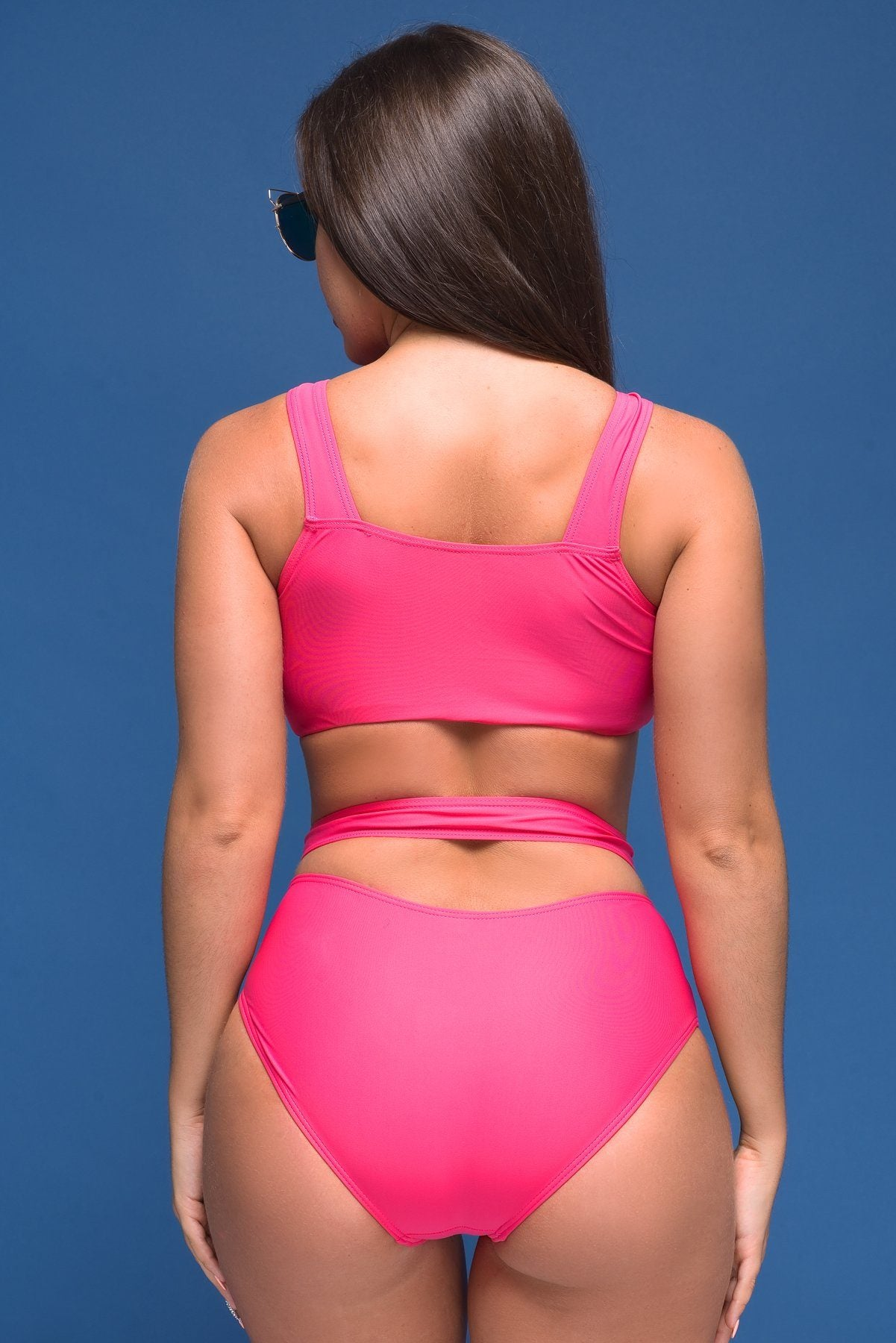 Swimwear - Sunny Bay Pink Swimsuit Two Pieces