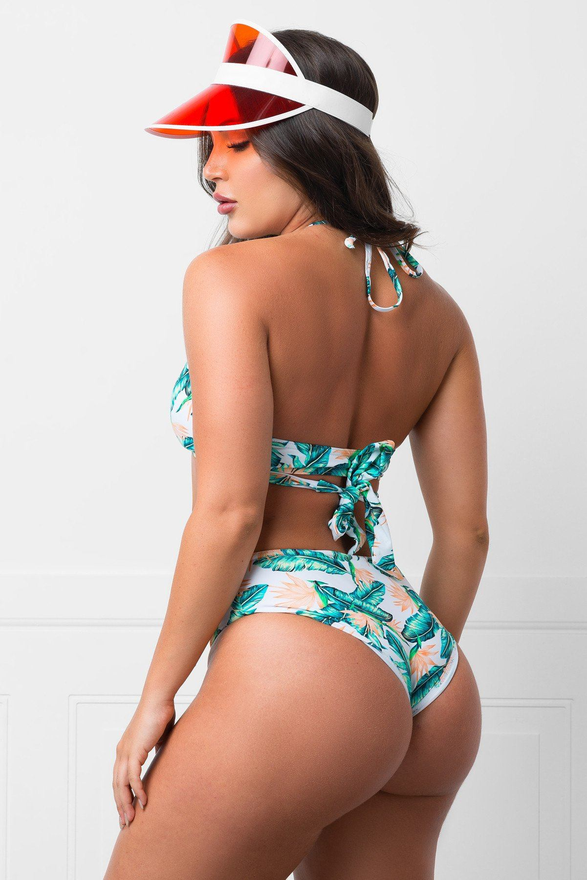 The Teal Strand Two Piece Swimsuit