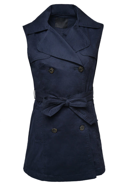 Casual And Chic Trench Vest - Fashion Effect Store  - 2