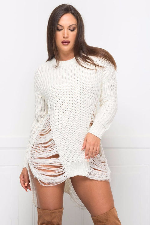 Tops & Sweaters - RESTOCKED Feeling Warm Sweater- Off White