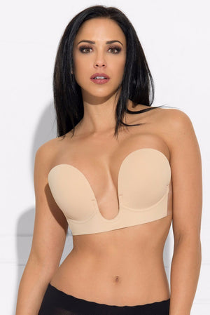 Tops & Sweters - Andy Sticky Bra Nude