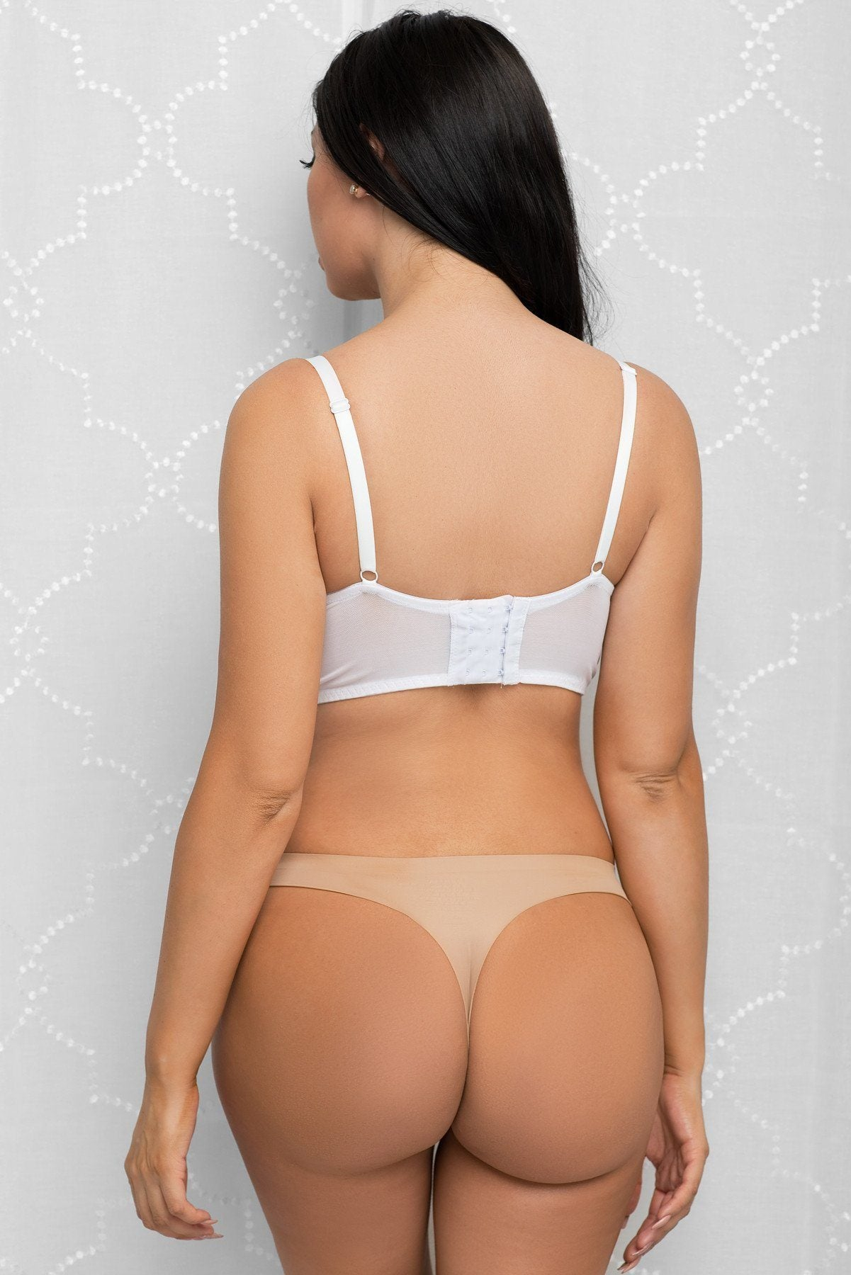 Tops & Sweters - No-Show Seamless Thong Nude