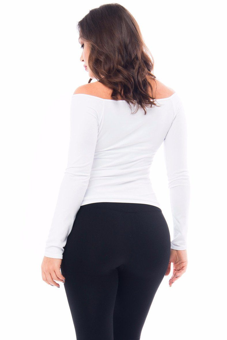 Tops & Sweters - RESTOCKED Basic Top Long Sleeve - White