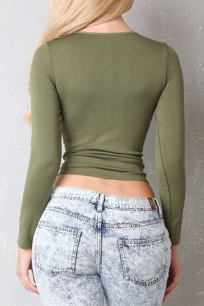 RESTOCK The Softest Blouse Ever Olive - Fashion Effect Store  - 2