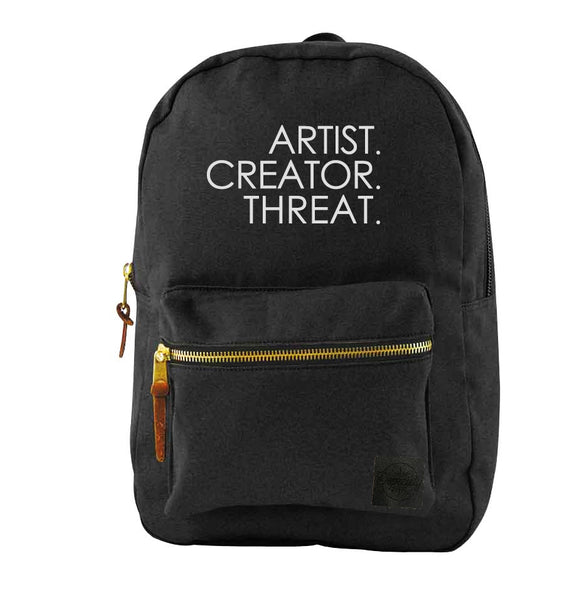 Artist.Creator.Threat Backpack