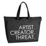 Artist.Creator.Threat Canvas Tote - Dopeciety - 1