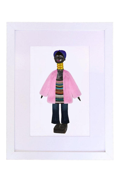 Mende, Attica and Gucci Art Print