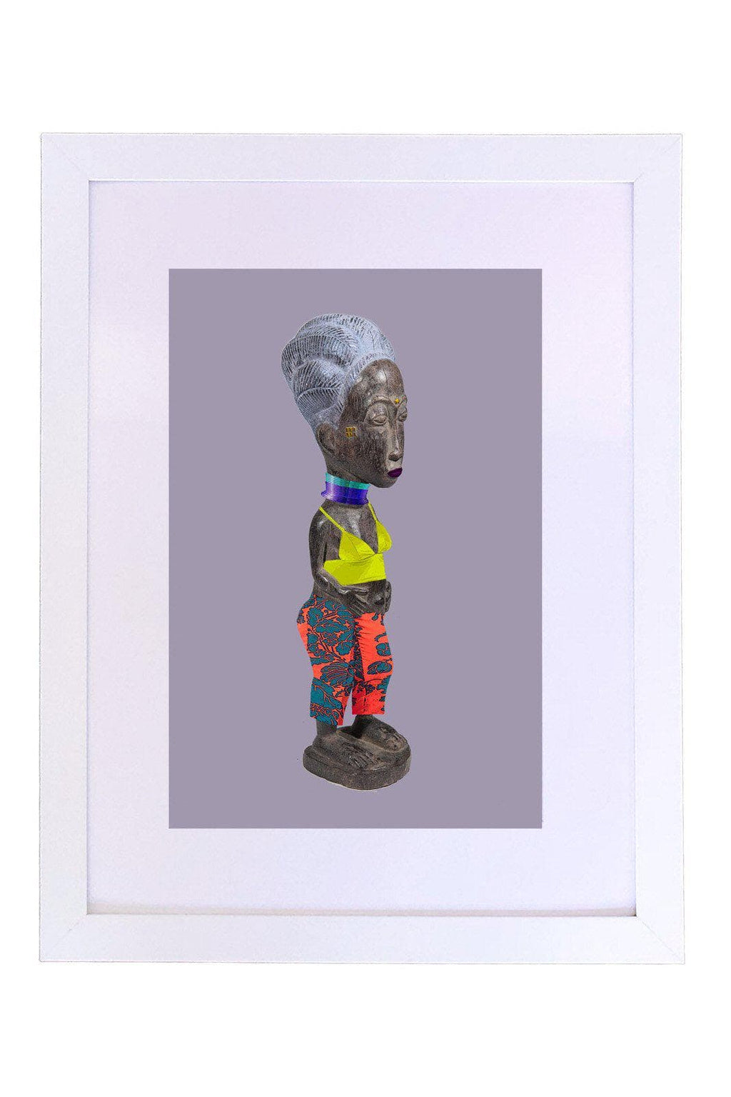 Baoulé and Dries Van Noten Art Print