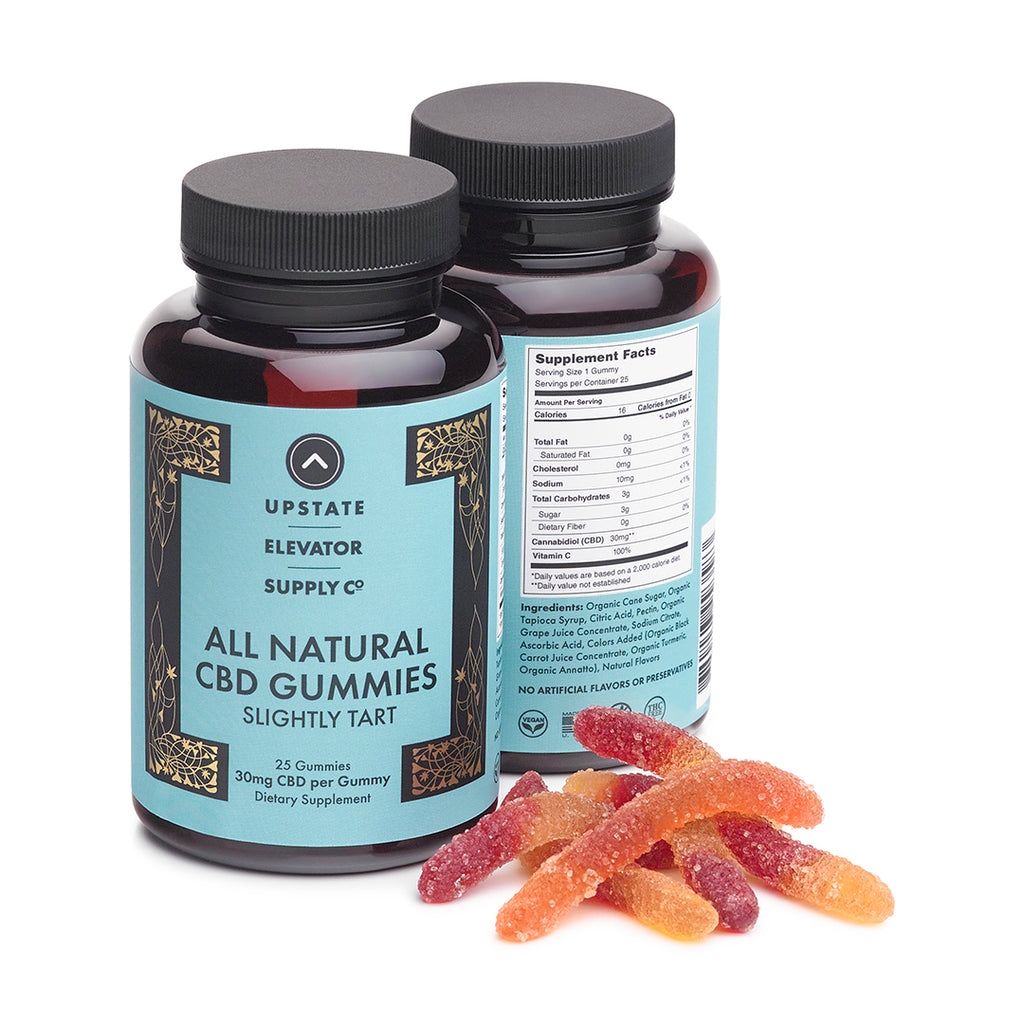 30mg CBD Gummy Worms, 25 count, 0%THC