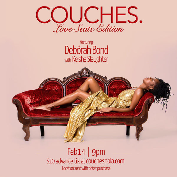 "2/14: COUCHES. ""Love Seats"" Edition - Dopeciety - 1"