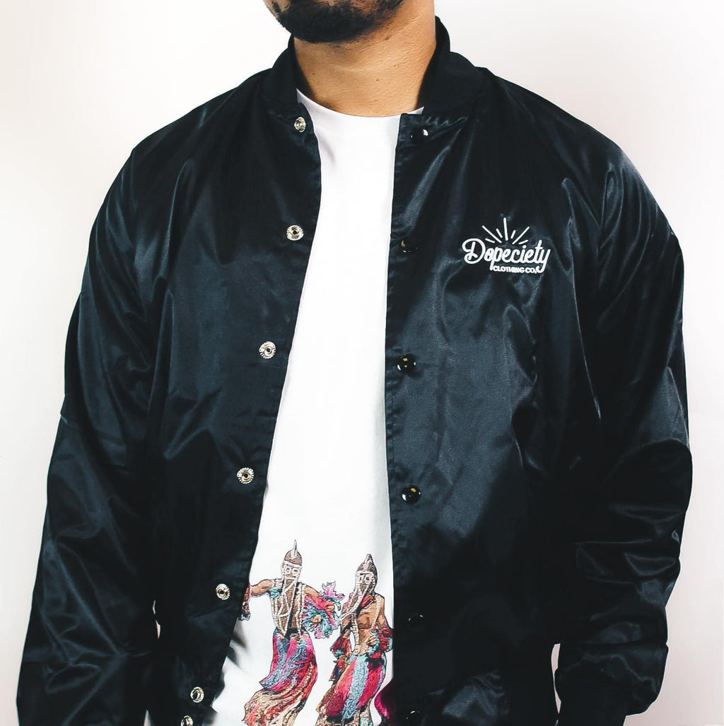 Dopeciety Satin Jacket