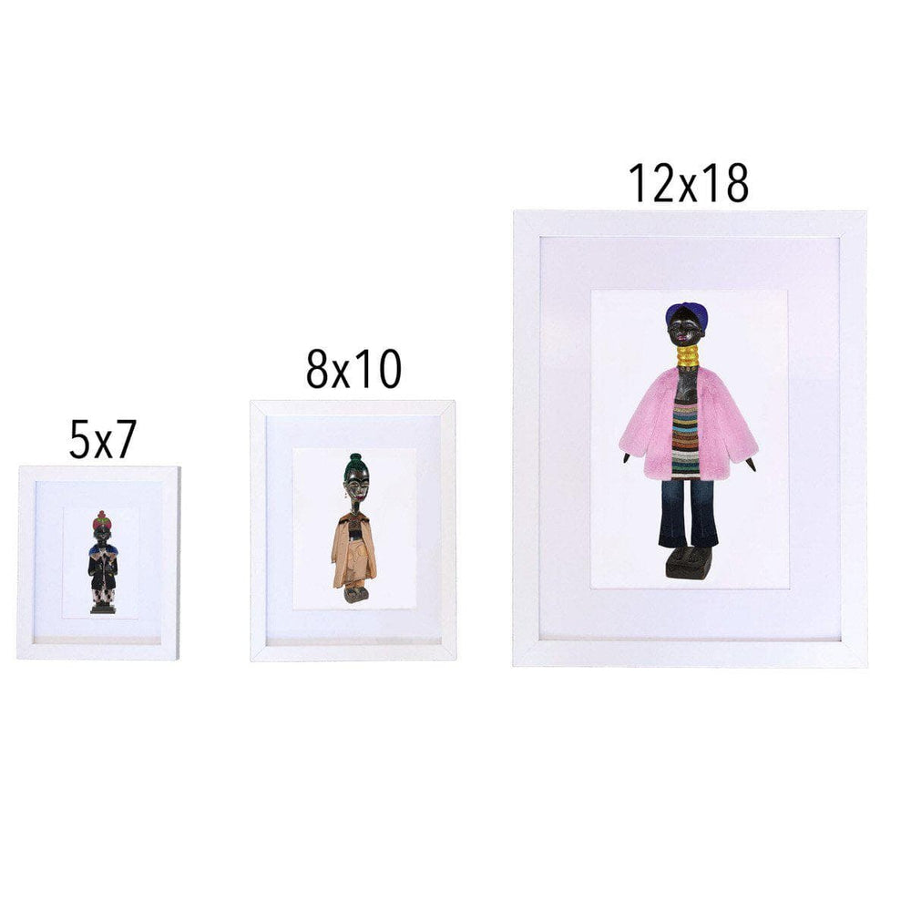 Mende and Balenciaga Art Print