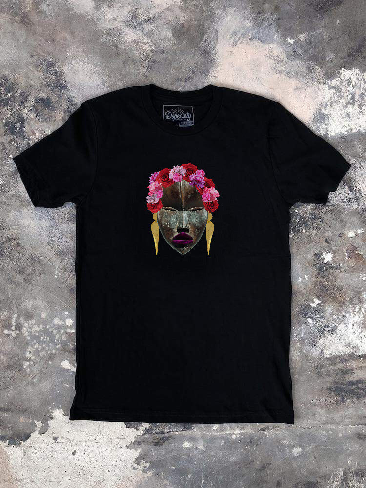 Frida's Flowers Tee, black