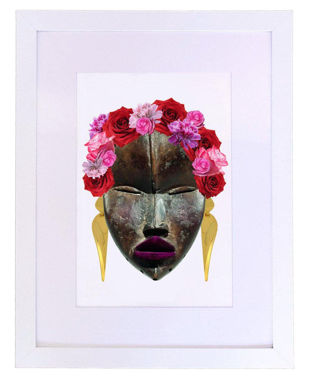 Frida's Flowers, Fine Art Print