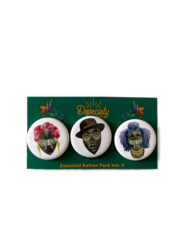 Dopeciety Button Pack Vol. II 1