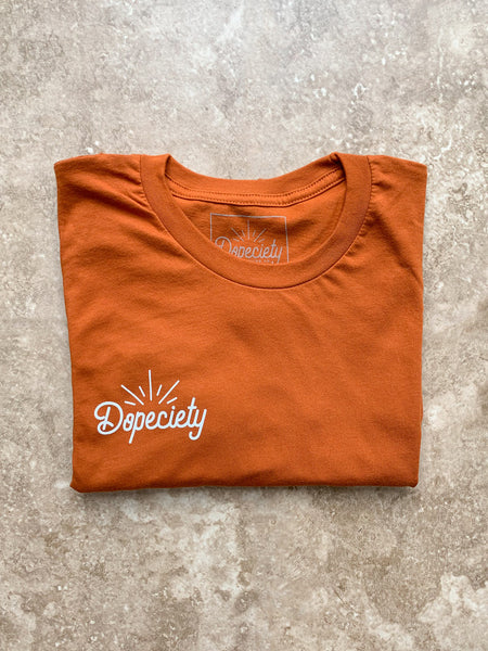 Dopeciety Logo Tee - Autumn
