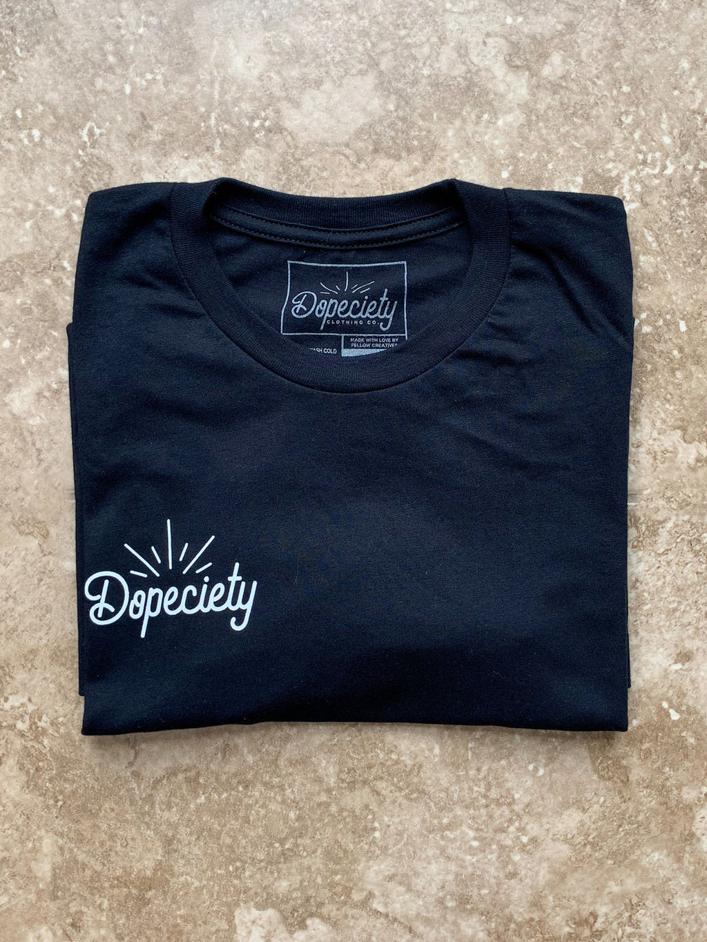 Dopeciety Logo Tee - Black
