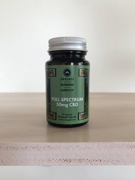 50mg Full Spectrum CBD Capsules