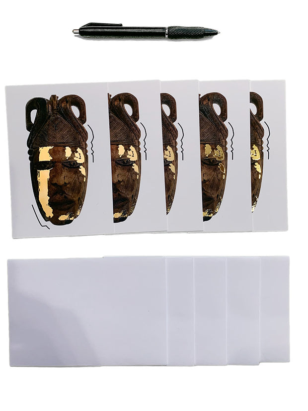 Legacy Mask, Note Card pack 1