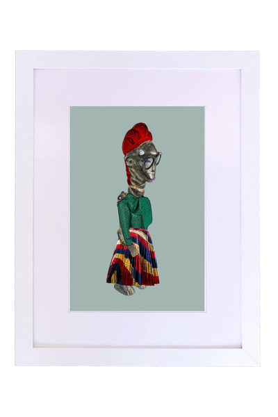 Mende and Gucci Art Print