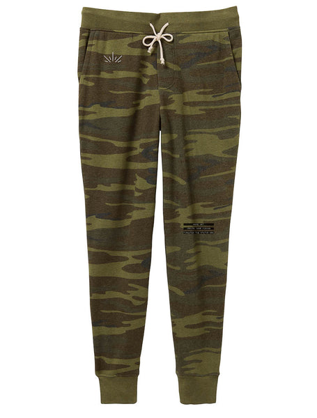Make Art Eco-Fleece Pants, Camo